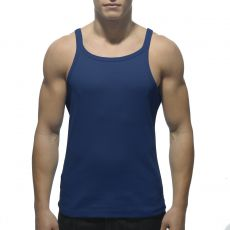 DEBARDEUR NAVY RIB TANK TOP  AD324 - ADDICTED