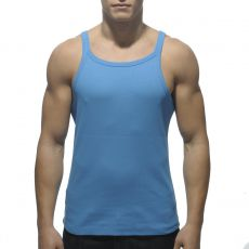 DEBARDEUR BLEU SURF RIB TANK TOP  AD324 - ADDICTED