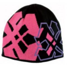Bonnet IGALYKOS - ARROX - Noir et mauve