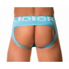 JOCK STRAP MEDITERRANEO EN MESH BLEU CIEL 0120 - JOR