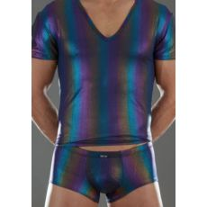 THISRT MIRTOS MULTICOLOR V SHIRT - BODYART