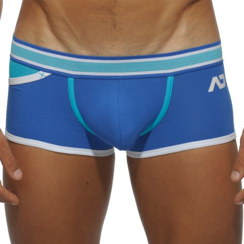 BOXER BLEU ROYAL POCKET MESH AD345 - ADDICTED