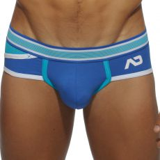 SLIP BLEU ROYAL POCKET MESH AD344 - ADDICTED
