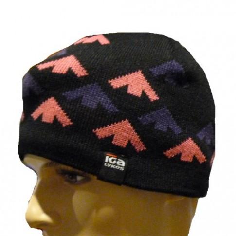 Bonnet IGALYKOS - HAROZ - Noir et mauve