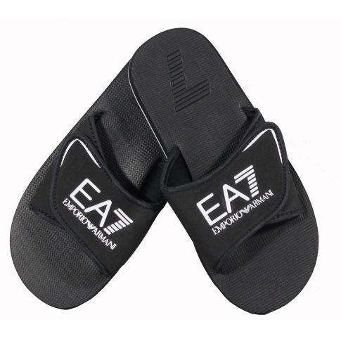 claquette tongs slipper training noir ea7. Black Bedroom Furniture Sets. Home Design Ideas