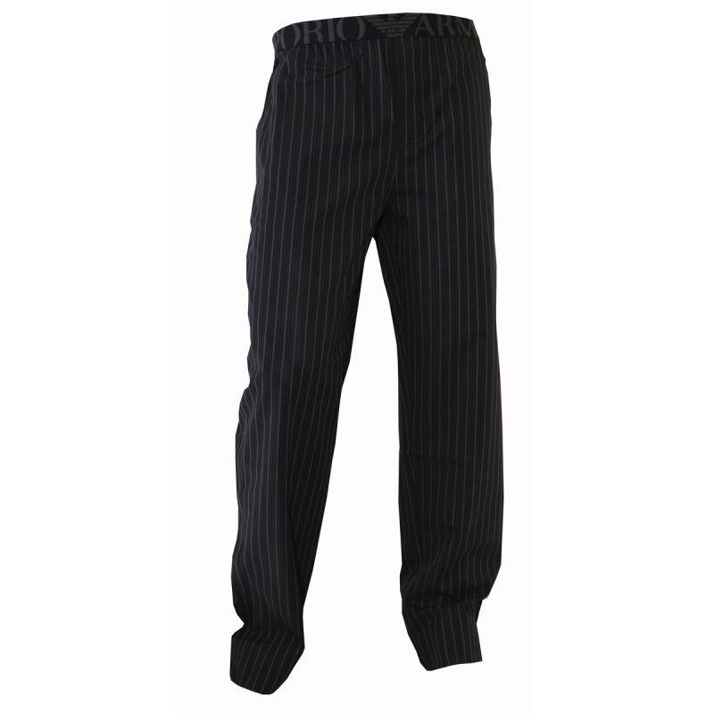 Pantalon d interieur raye noir gris armani for Tenue interieur homme