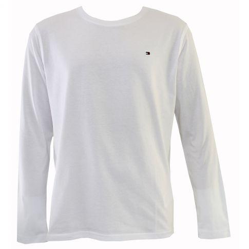 3b378a9ed2303 T-shirt interieur blanc manches longues - tommy hilfiger ...