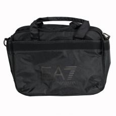 BESACE LOGOTE POLYESTER NOIR - EA7