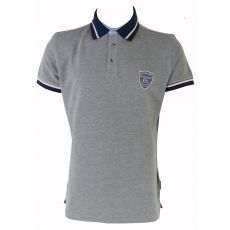 POLO HOMME FILL GRIS CHINE - KAPORAL