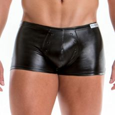 BOXER LEATHER NOIR  EN POLYESTER 02522  - JOR