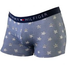 BOXER BLEU DENIM CHAMBRAY STAR  - TOMMY HILFIGER