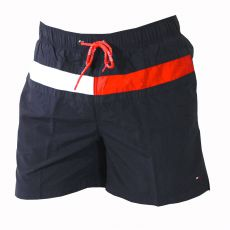 SHORT DE BAIN FLAG TRUNK NOIR - TOMMY HILFIGER
