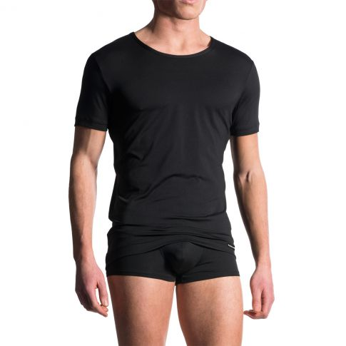 T-SHIRT MANCHES COURTES COL ROND CASUAL TEE  M103 - MANSTORE