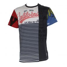 T-SHIRT CARBONE MAR COL ROND - DESIGUAL