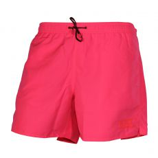 SHORT DE BAIN COURT ROSE FLUO LOGOTE - EA7