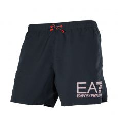 SHORT DE BAIN COURT MARINE GRAND LOGO - EA7