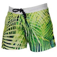 SHORT DE BAIN PHOTO PRINT VARS IRISH GREEN VERT - TOMMY HILFIGER