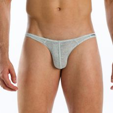 SLIP GRIS FLAMME SUPER LOW CUT 07611  - MODUS VIVENDI