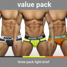 PACK DE 3 SLIP LIGHT MICROFIBRE - ADDICTED