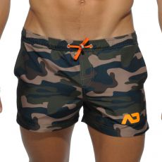 SHORT DE BAIN CAMOUFLAGE  ADS096 - ADDICTED