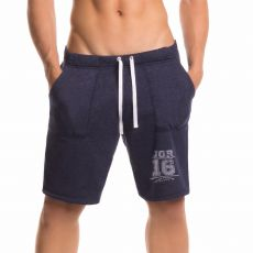SHORT DE SPORT MI LONG FIGHTER NAVY  0298 - JOR