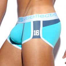 BOXER SHORTY MICROFIBRE TURQUOISE 16 PIQUE UN142 - ES COLLECTION