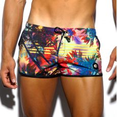 SHORT DE BAIN COURT BURGWARD A MOTIFS 1620 - ES COLLECTION