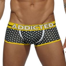 BOXER NOIR USA FLAG AD440 - ADDICTED