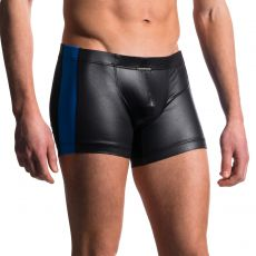 BOXER TECHNIQUE NOIR/ROYAL EN POLYESTER HIP BOXER M604 - MANSTORE