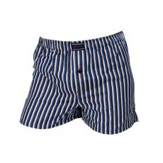 CALECON HERITAGE A RAYURES GRIS/BLEU/BLANC  - TOMMY HILFIGER