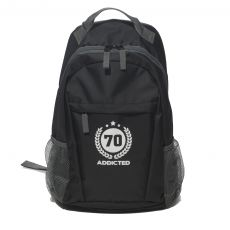 SAC A DOS NOIR BACKPACK AC037 - ADDICTED