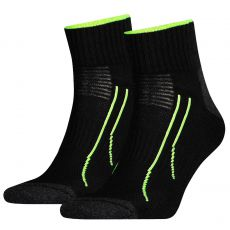 PACK DE 2 PAIRES CHAUSSETTES NOIR QUARTER TRAINING CELL PERFORMANCE  SN - PUMA