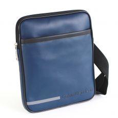 CKJ – BESACE  VINYLE BLEU NUIT  BODY BAG – CDS010-PBO0010-7EA