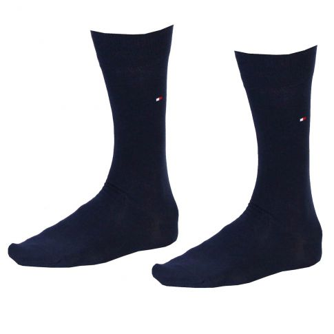 CHAUSSETTES PACK 2 PAIRES NAVY - TOMMY HILFIGER