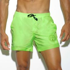 SHORT DE BAIN COURT BASIC VERT LIMON 1721 - ES COLLECTION