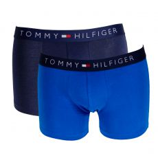 PACK 2 BOXERS BLEU ET NAVY ICON  - TOMMY HILFIGER