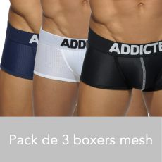 PACK DE 3 BOXERS MESH PUSH UP - ADDICTED