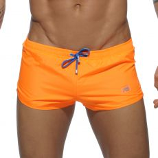 SHORT DE BAIN BASIC ORANGE MINI SHORT  ADS111 - ADDICTED