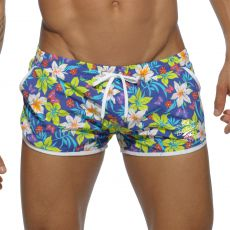 SHORT DE BAIN HAWAIIAN NAVY  ADS115 - ADDICTED