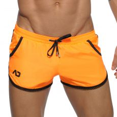 SHORT DE BAIN COURT ROCKY ORANGE  ADS112 - ADDICTED