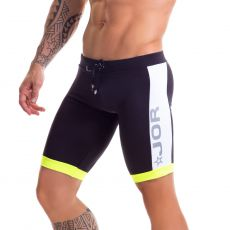 SHORT DE SPORT NOIR RACING 0445- JOR