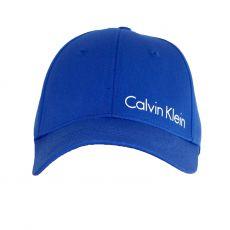 CASQUETTE BLEU ROYAL - CALVIN KLEIN