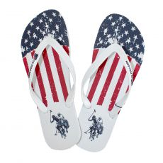 TONGS USA RICK FLAG BLANC - US POLO ASSN
