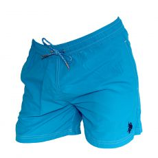 SHORT DE BAIN COURT TURQUOISE  BASIC - US POLO ASSN