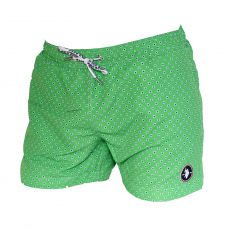 SHORT DE BAIN COURT DIAMOND VERT  - US POLO ASSN
