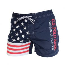 SHORT DE BAIN COURT ORIGINAL PLAYER NAVY  - US POLO ASSN