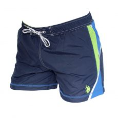SHORT DE BAIN COURT LIAM SPORT NAVY - US POLO ASSN