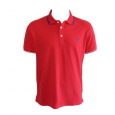 POLO BARNEY ROUGE  - US POLO ASSN