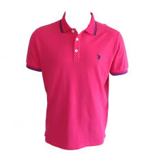 POLO BARNEY FUSCHIA  - US POLO ASSN