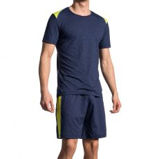 T-SHIRT DE SPORT NAVY RED1710 - OLAF BENZ